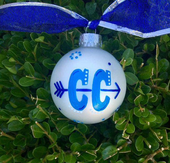 Cross Country Ornament Running Ornament CC by BrushStrokeOrnaments Country  Christmas Ornaments, Personalised Christmas Baubles, - Cross Country Ornament, Running Ornament, CC, Hand Painted