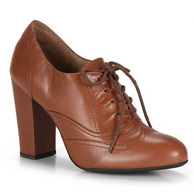 615fd1582f Sapato Oxford Feminino Brenda Lee - Caramelo Mais