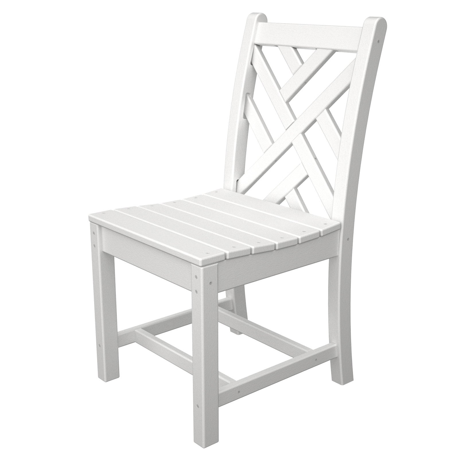 outdoor polywood chippendale recycled plastic dining side chair rh pinterest com