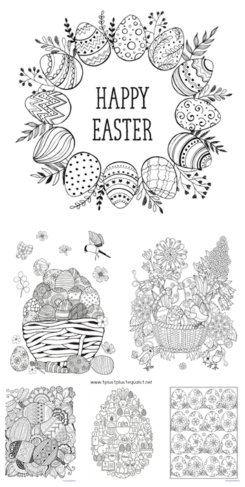 Easter Coloring Pages | Oshc | Pinterest | Pascua, Imprimible and ...