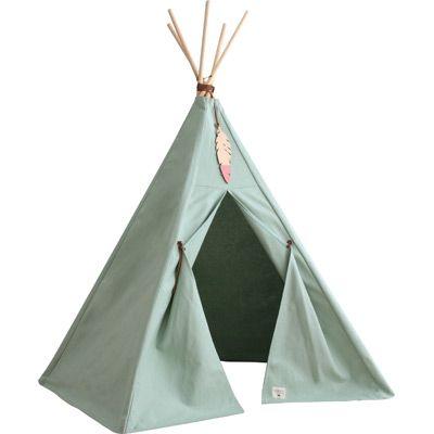 Tente Tipi Vert du0027eau D, Camping and Salons - faire une chambre dans un salon