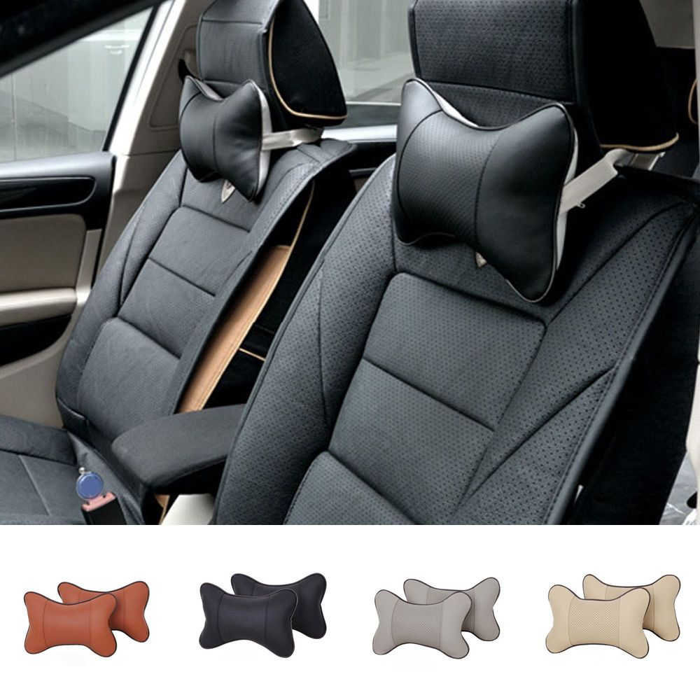 1pc car auto seat headrest pad travel pillow head neck rest support rh pinterest com