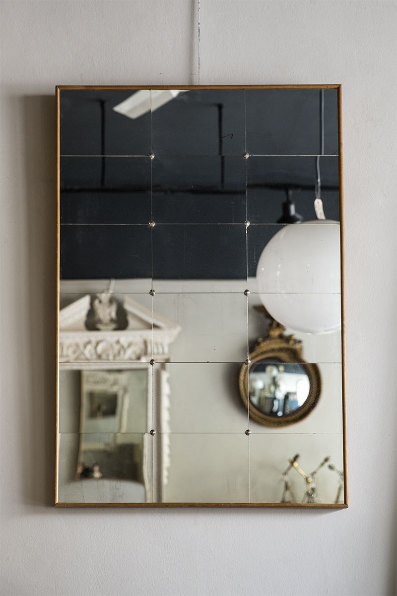 swedish segmented mirror 2 antique mirrors mirror swedish style rh pinterest co uk