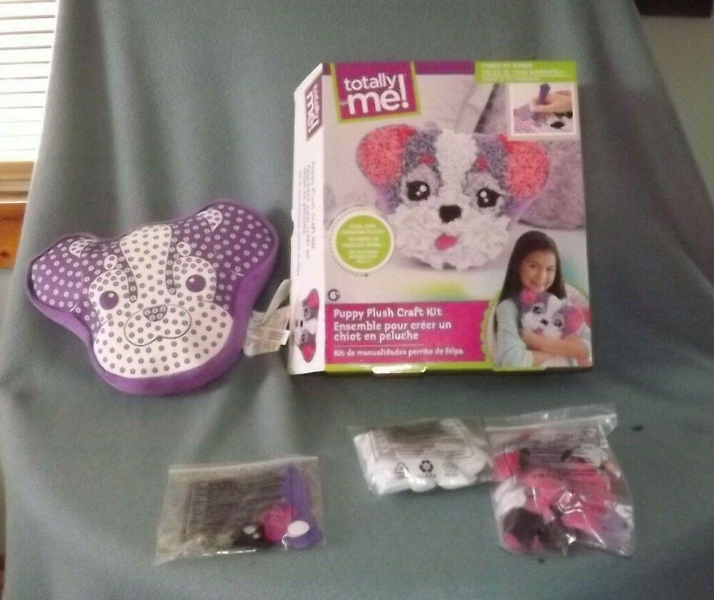 Toysrus Manualidades.Totally Me Puppy Plush Craft Kit Fabric Crafts Toysrus Pin