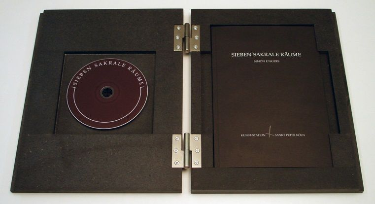 Seven Sacred Spaces : Sieben Sakrale Räume : Simon Ungers| Exhibition catalog of the art-Station Sankt Peter, Cologne (2003)