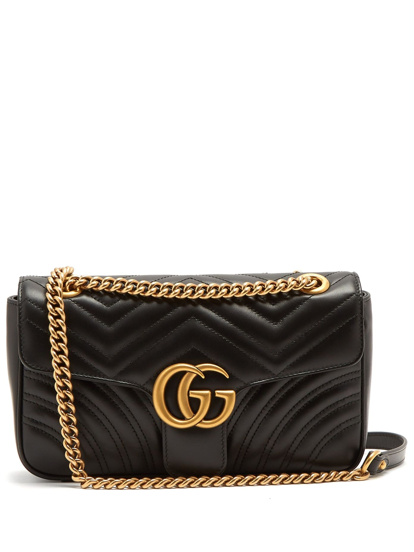 f5192526fc7 Click here to buy Gucci GG Marmont quilted-leather shoulder bag at  MATCHESFASHION.COM