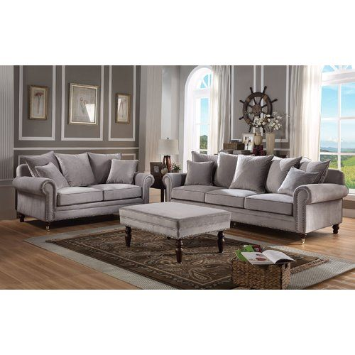 wildon home hampton 2 piece sofa set in 2019 products sofa rh pinterest com