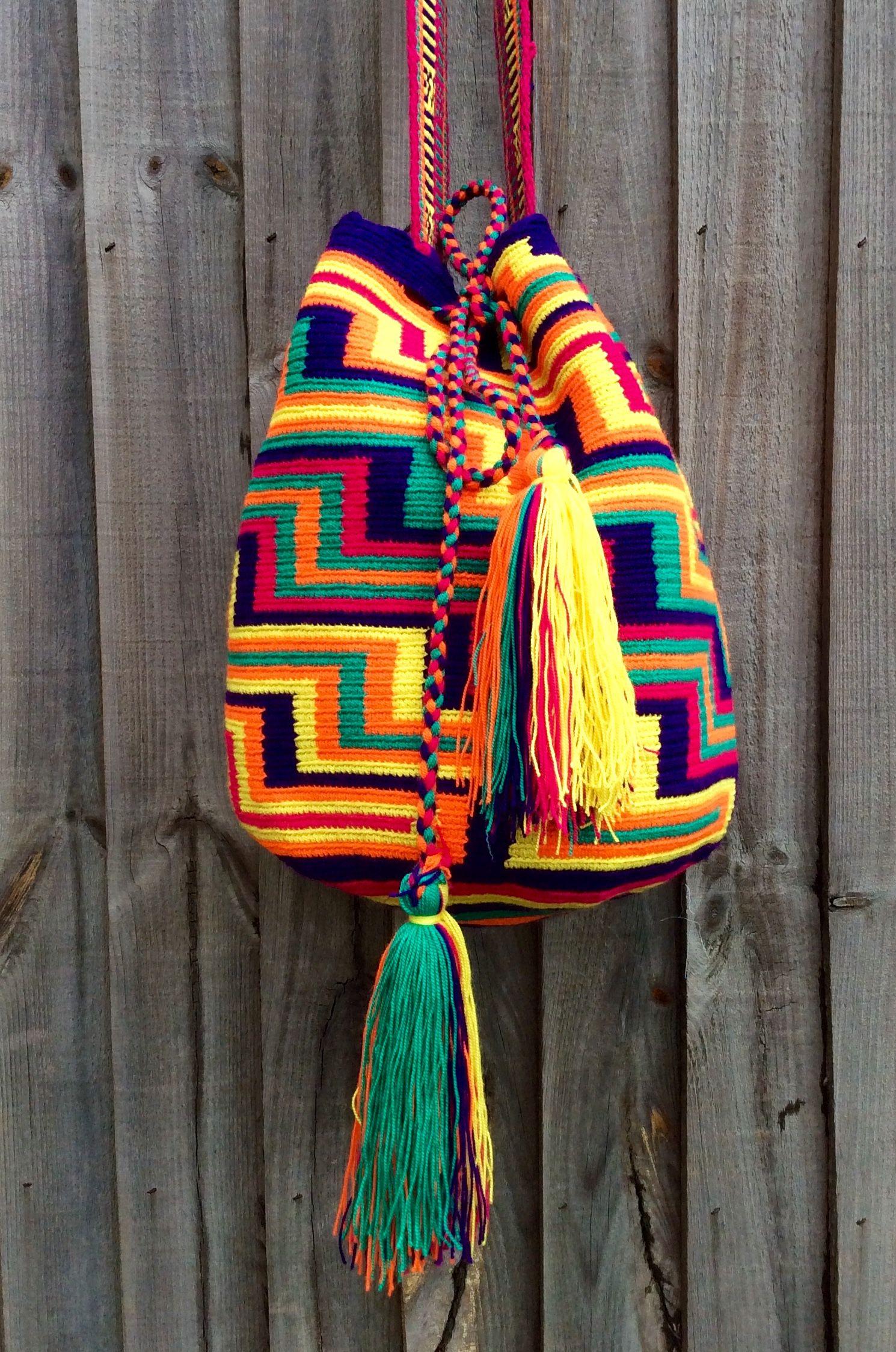 Wayuu Mochila bag                                                                                                                                                      Más