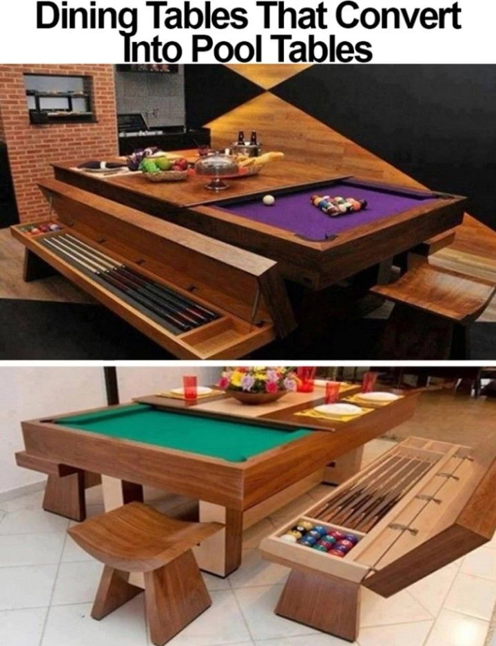pin by will cole on miscellaneous memes pinterest room dining rh pinterest co uk  turning pool table into dining table