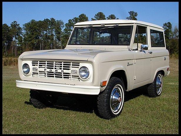1968 Ford Bronco At Mecum Auctions Ford Bronco Bronco Vintage Trucks