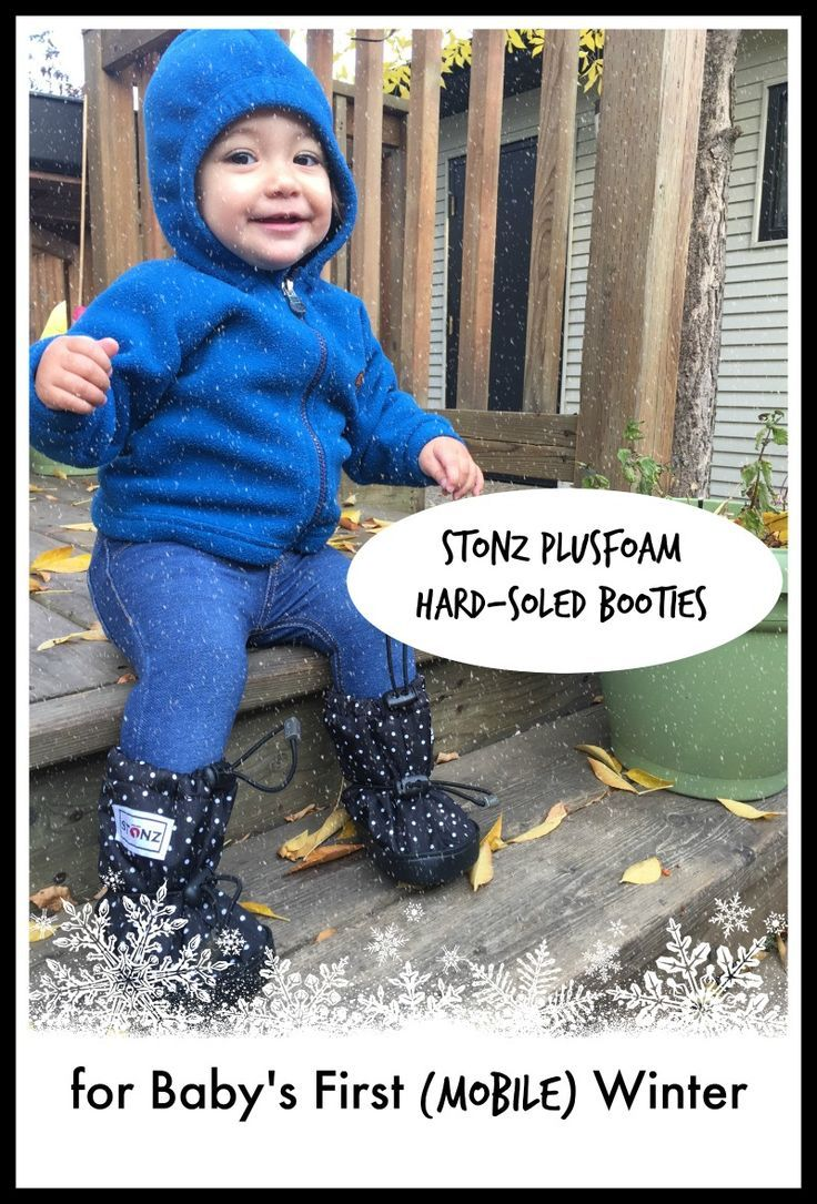 d6c58078c Get baby ready for winter with Stonz Mittz and Booties. Keep baby ...