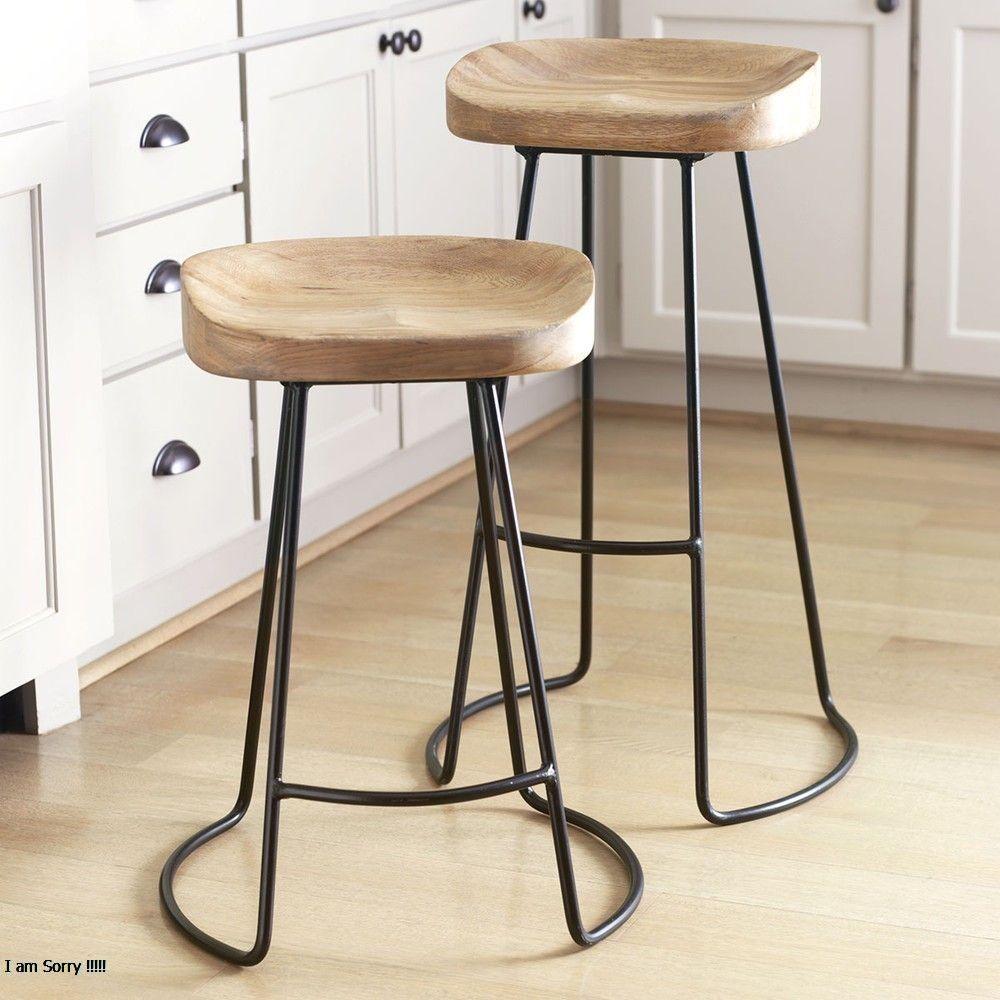 Modern Bar Chair Kursi Bar Dekorasi Rumah Dapur Counter Stool