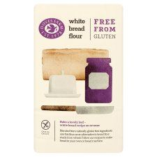 Doves Farm Gluten Wheat Free White Bread Flour 1kg Groceries