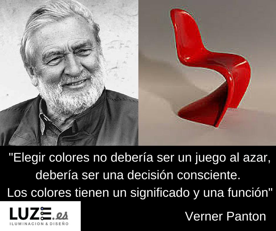 Verner Panton y la importancia de los colores #frases #quotes #design #decoración