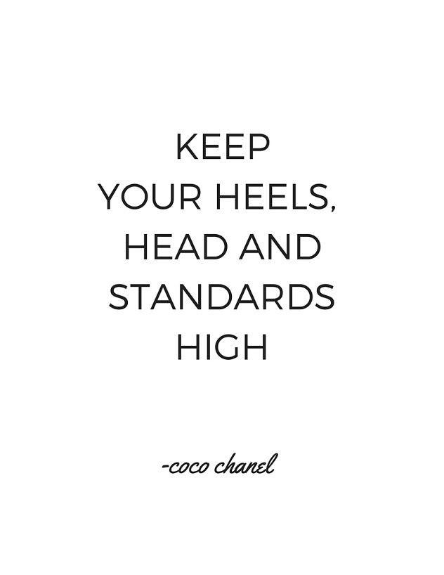 Coco Chanel Quote - Printable | DIY Home Decor | FREE 8.5 x ...