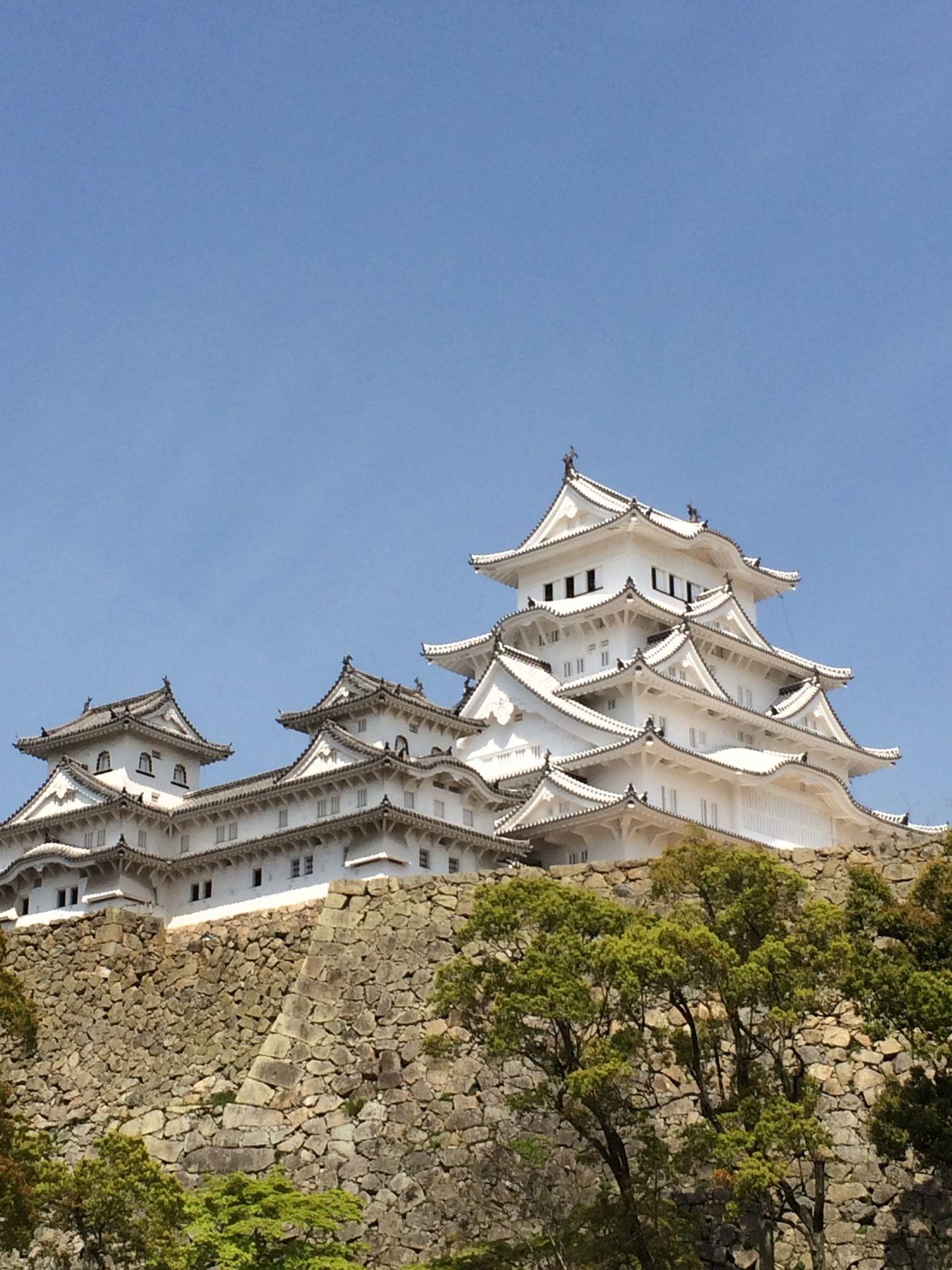 姫路城 (Himeji Castle) in 姫路市, 兵庫県