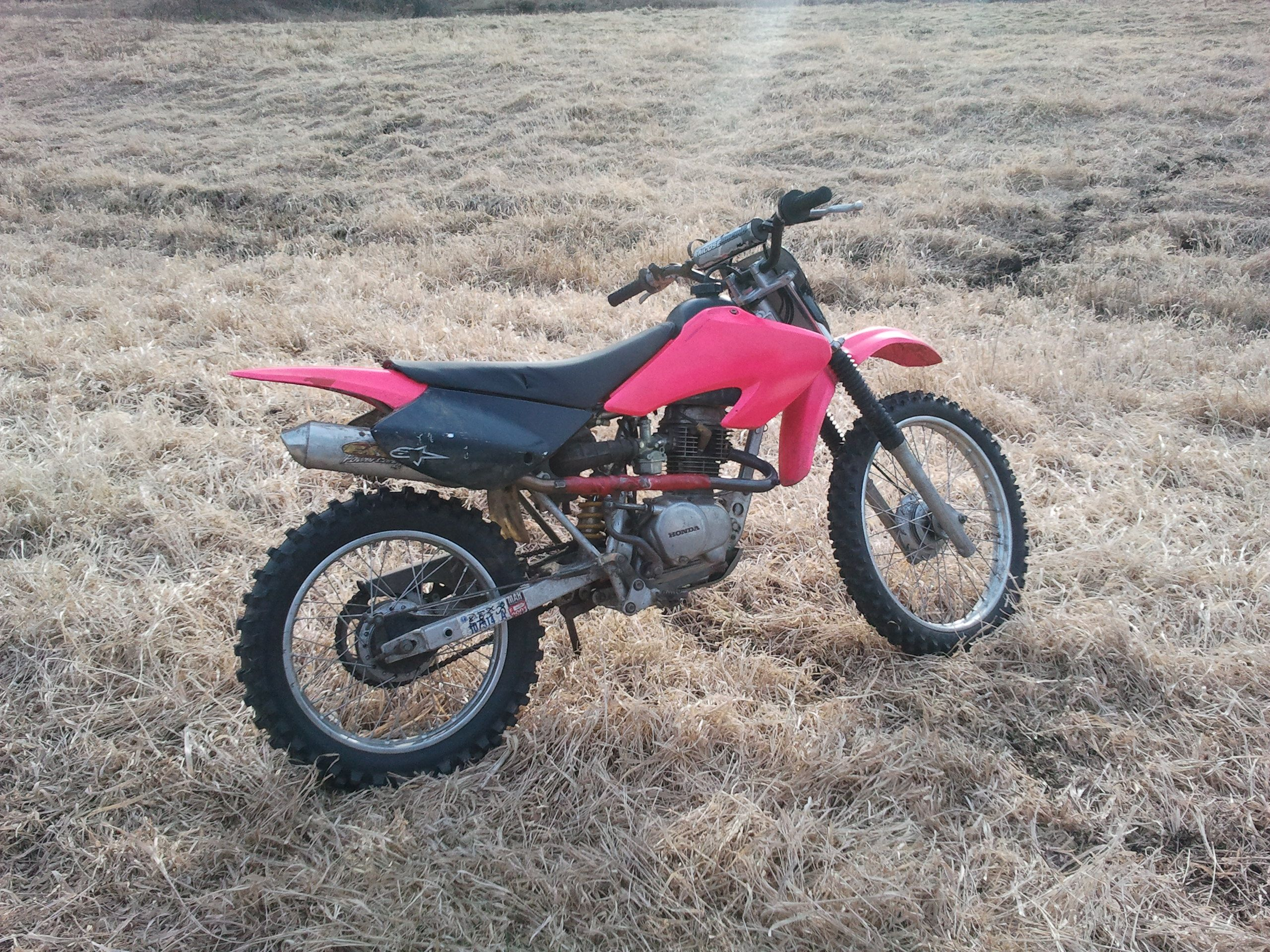 My Honda Xr100 Pink And Black Of Course Motocross Honda Riding