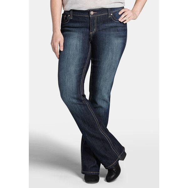 02f74d0490c maurices Plus Size - Denim Flex ™ Slim Boot Dark Wash Jeans ( 27 ...