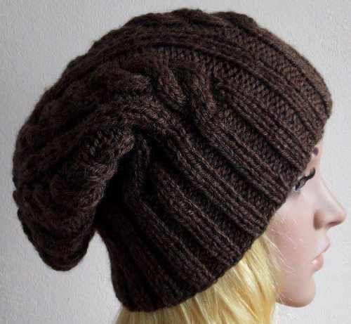 Explicacion de gorros tejidos a dos agujas - Imagui | gorros crochet ...