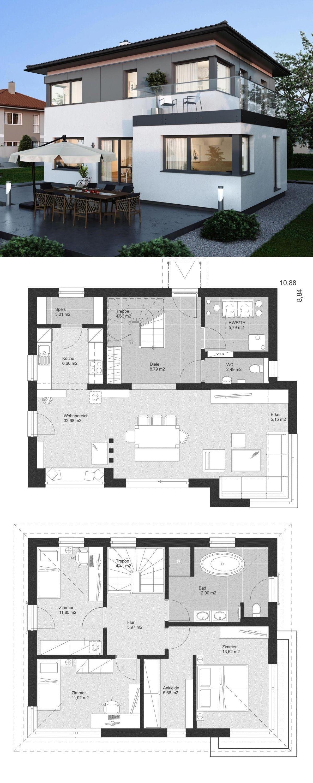 Fertighaus ELK Haus 130 mit Erker ELK Fertighaus