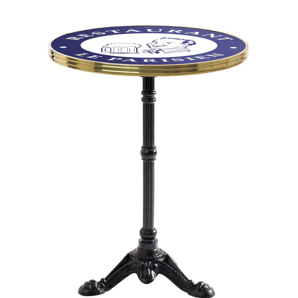 Table De Bistrot Emaillee Le Parisien Ardamez Furnish It