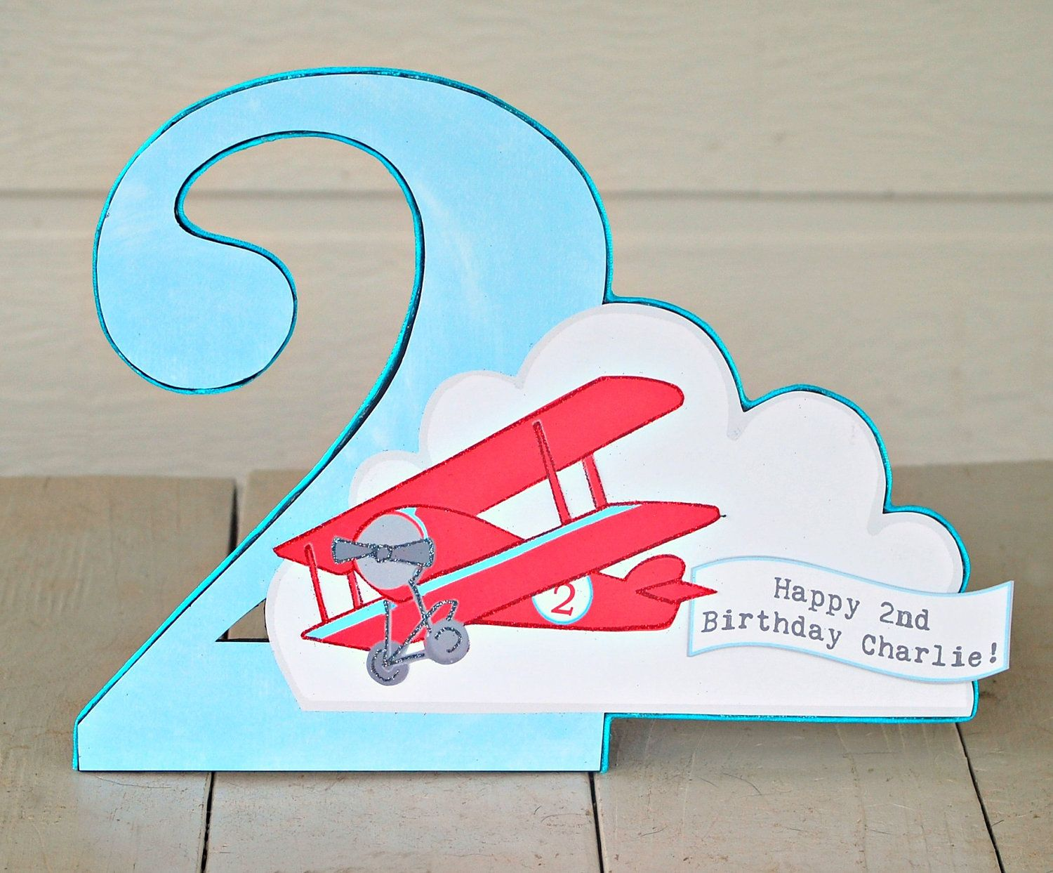 The Vintage Plane Collection - Custom Tabletop Decorations