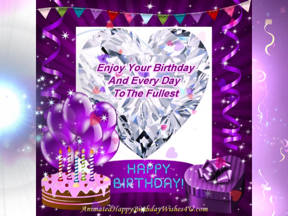 FREE DOWNLOAD Valentine Diamond Hbday Wishes in 2020