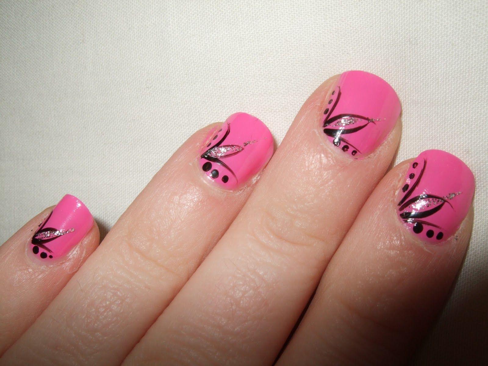 Easy simple nail tutorial