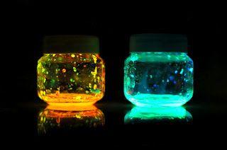 Estéfi Machado: Mini-lamparinas de monstrinhos Neon!