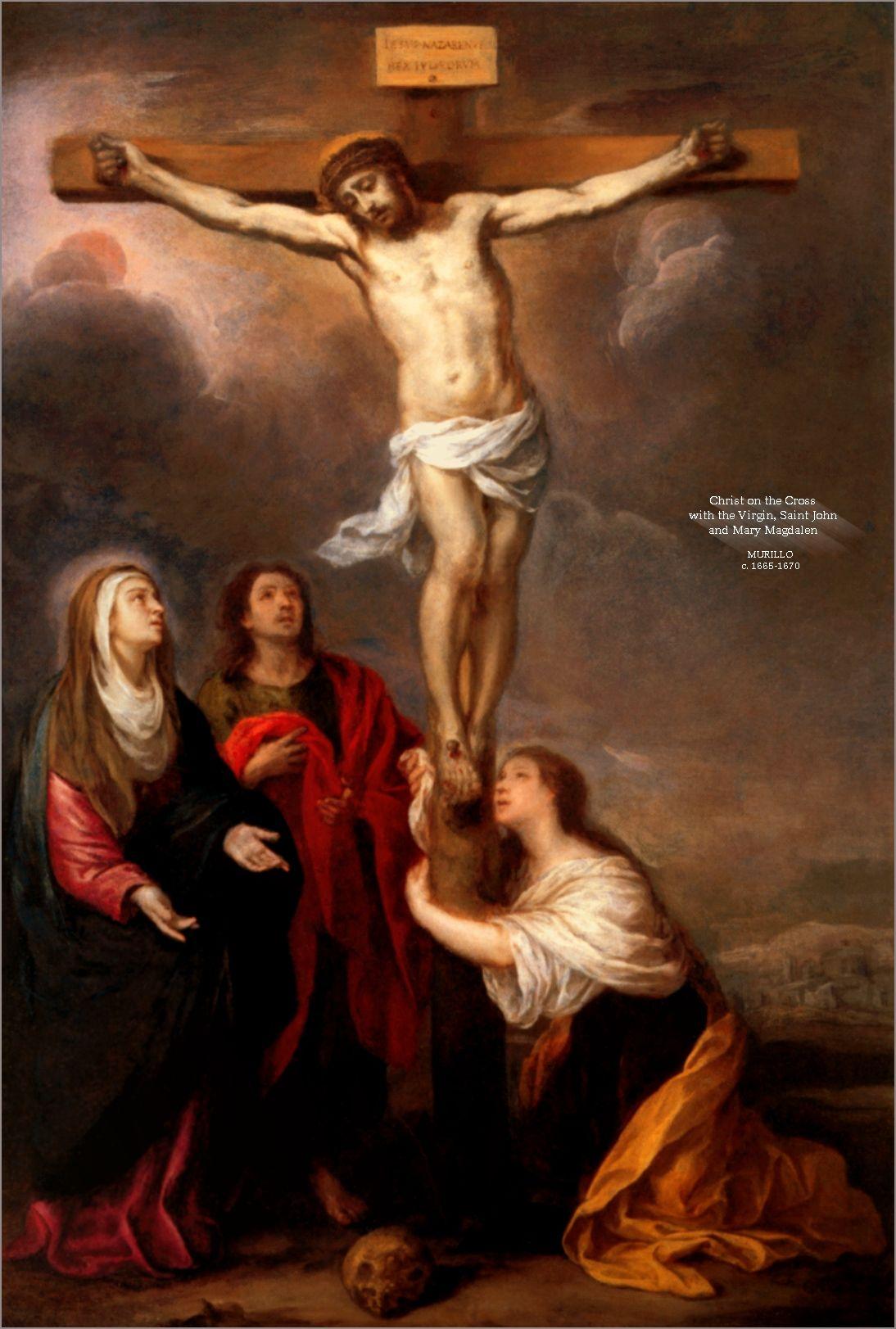 Saint Mary Magdalen Crucifixion Of Jesus Jesus Painting Jesus