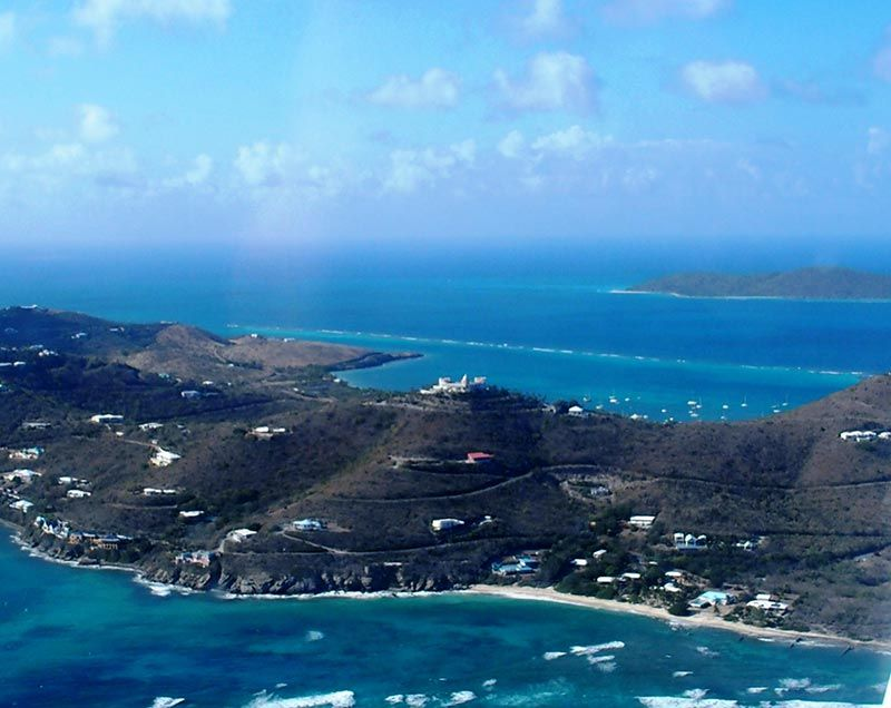 St Thomas Map Virgin Islands%0A St Croix Scenic Aerial Tour with Fiona Horne