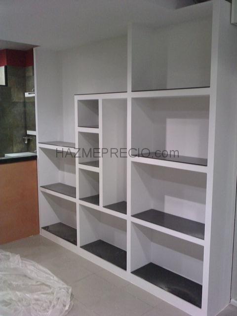 muebles de escayola salon - Buscar con Google | estanterías pladur ...