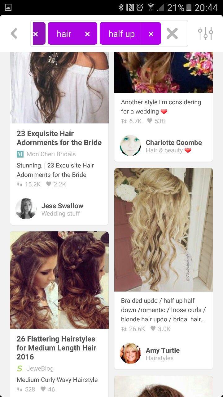 Pin by Hannah Victoria on Bridesmaid hair | Pinterest | Bridesmaid hair