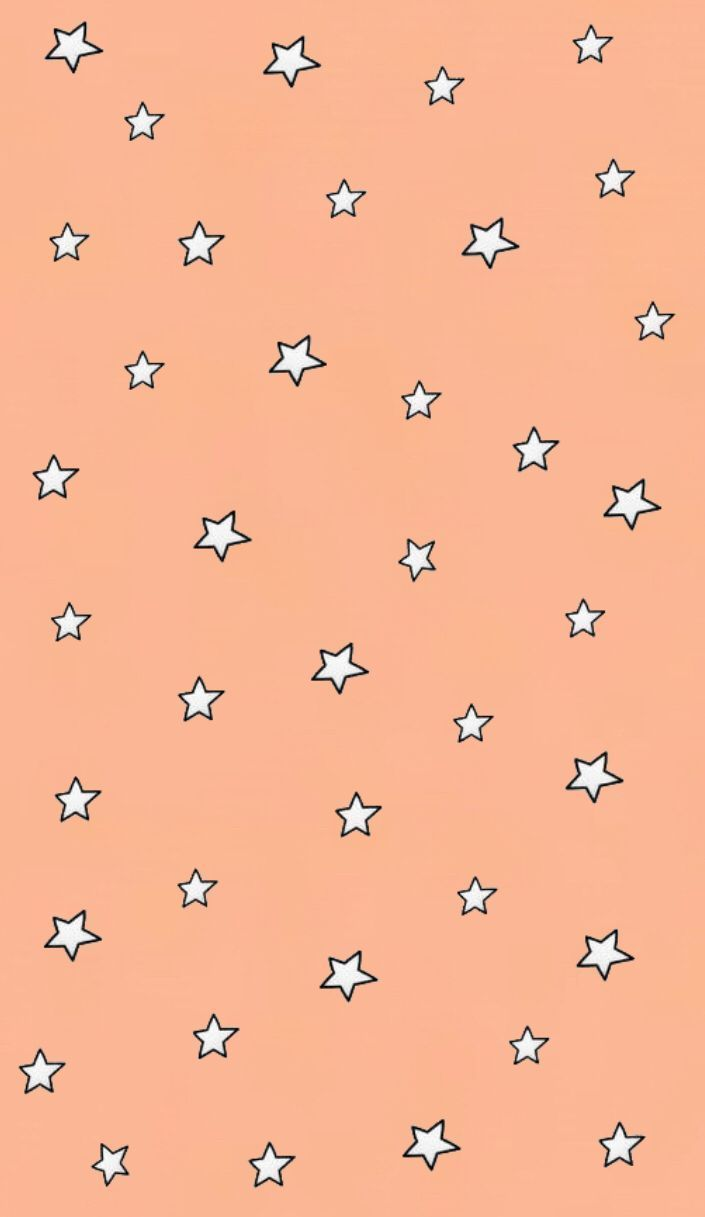 peachy star background #wallpaperbackgrounds