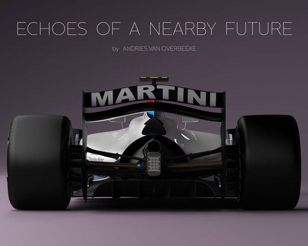 High Quality Echoes Of A Nearby Future : Formula 1 Concept Car By Andries Van Overbeeke
