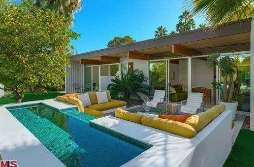wexler designed palm springs modern asks 2 9m homes palm rh pinterest com