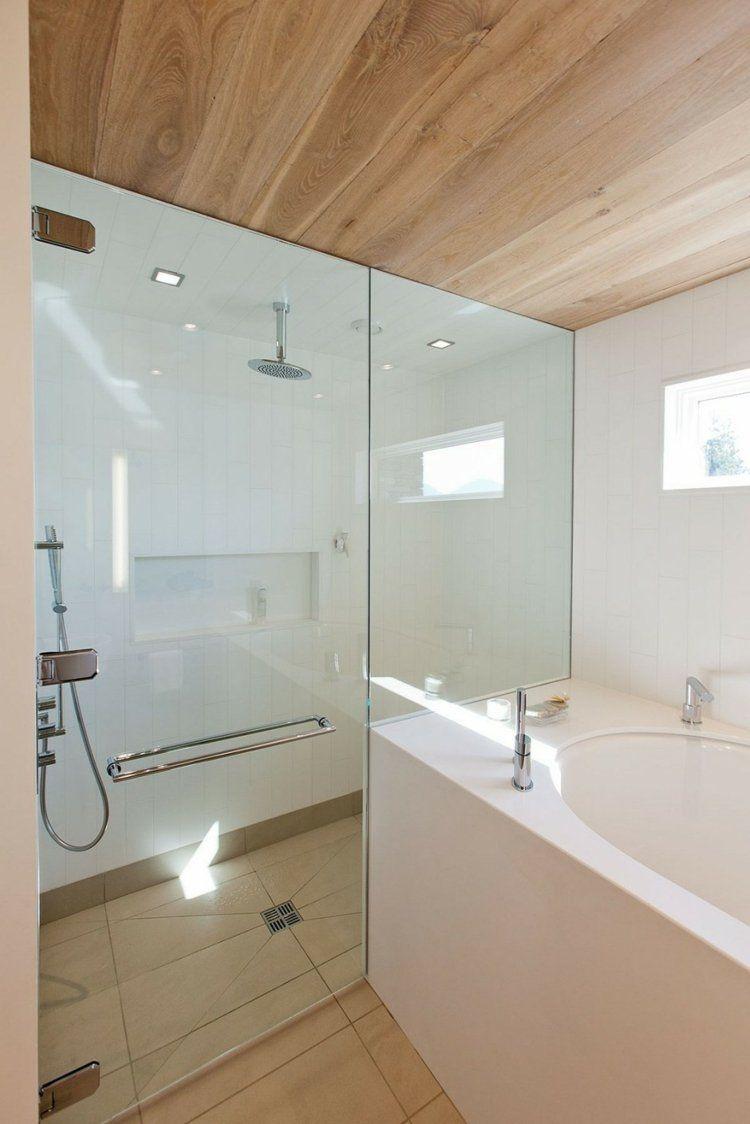 Badezimmer Mit Italienischer Dusche In Einigen Verzierungsideen