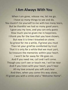 Pin by Graciela Olivo on Positive quotes | Funeral poems