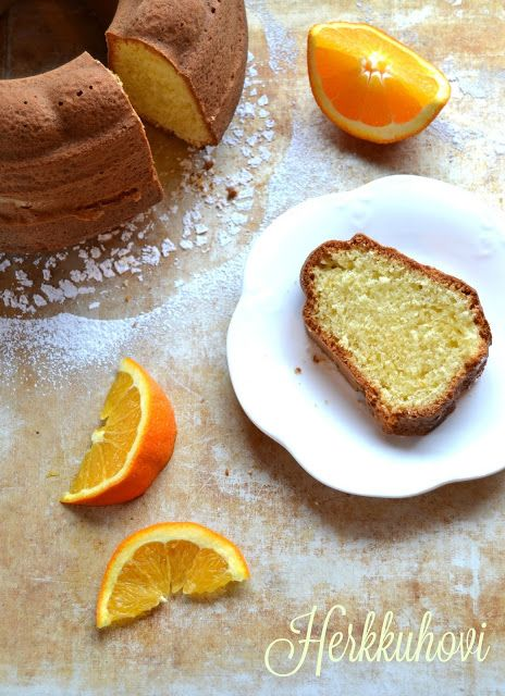 Herkkuhovi: Appelsiinikahvikakku
