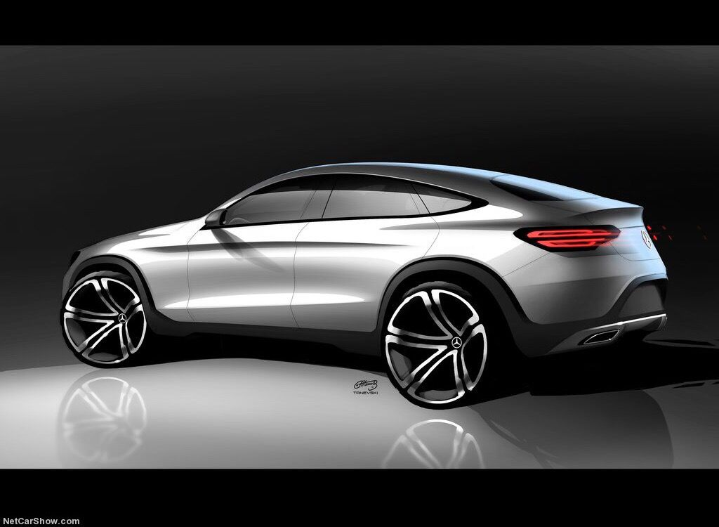 Mercedes-Benz GLE sketch | Design | Car design sketch ...