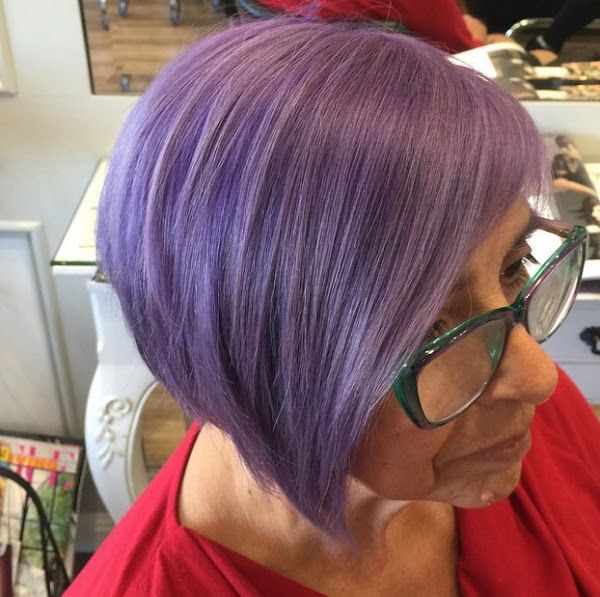 48 Irresistibly Beautiful Purple Hair Color Styles Hair Color