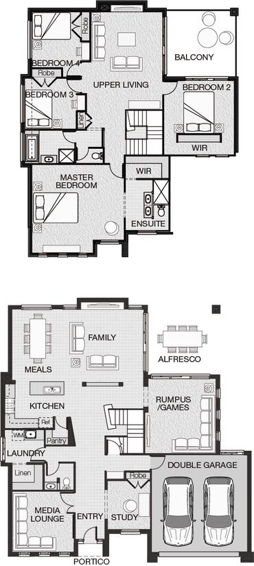 The Ella Optional Design A Adenbrook Homes Floor Plans Dream House Plans New House Plans