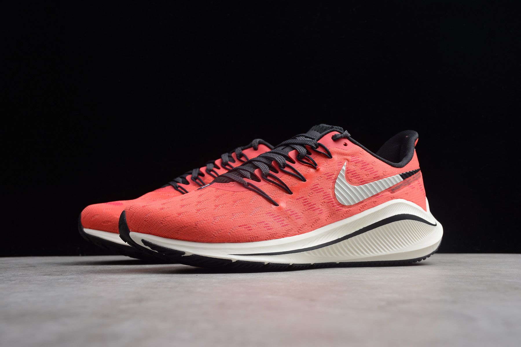 Womens Nike Air Zoom Vomero 14 Red Black-Sail AH7858-800  b6efef33d5