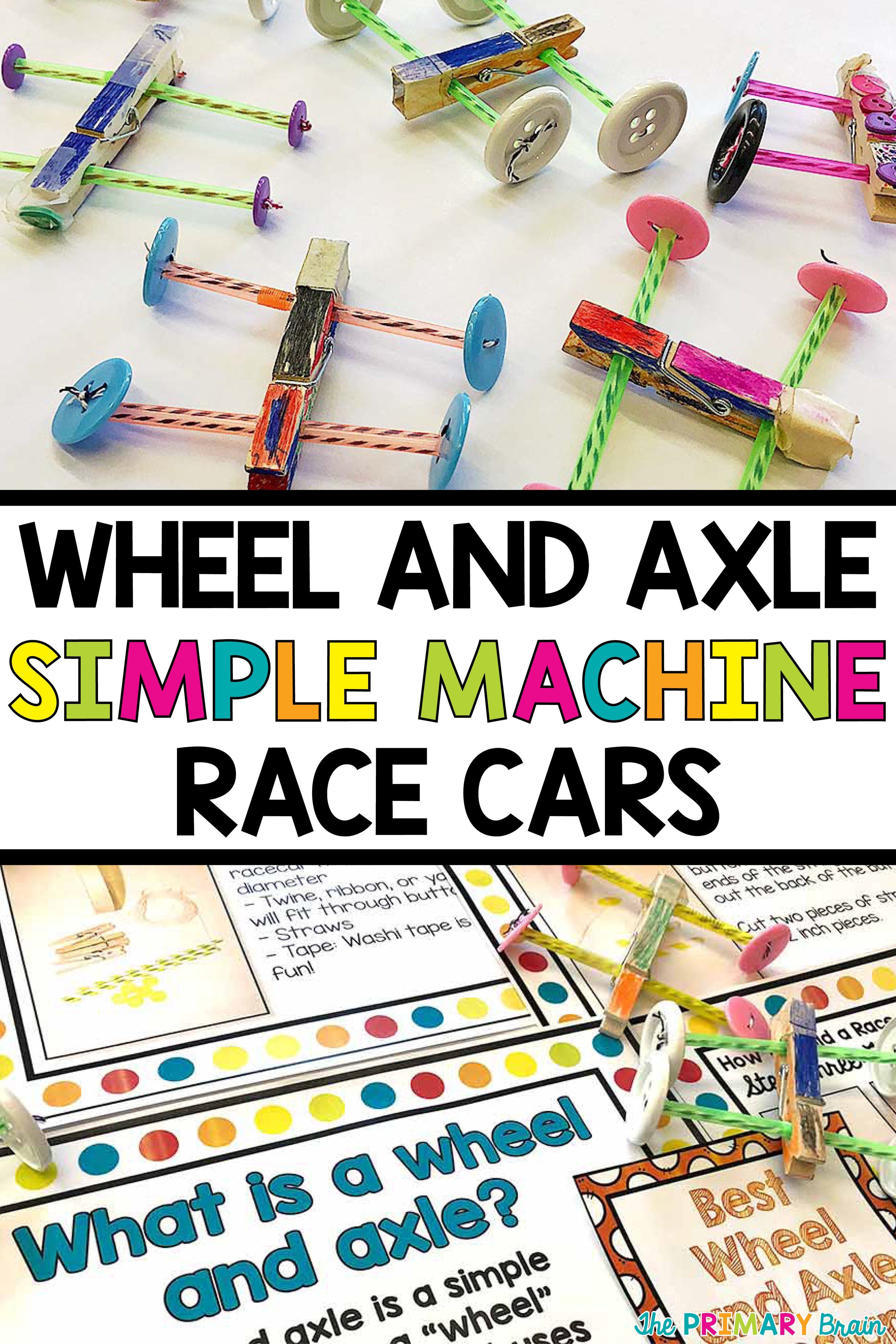 Learn About Simple Machines By Racing Race Cars