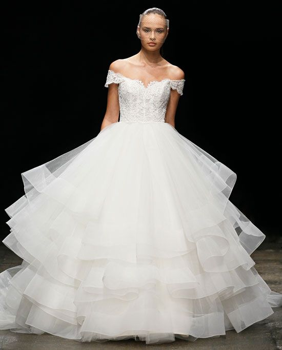 Lazaro Spring 2017 Wedding Dress Collection | Martha ...