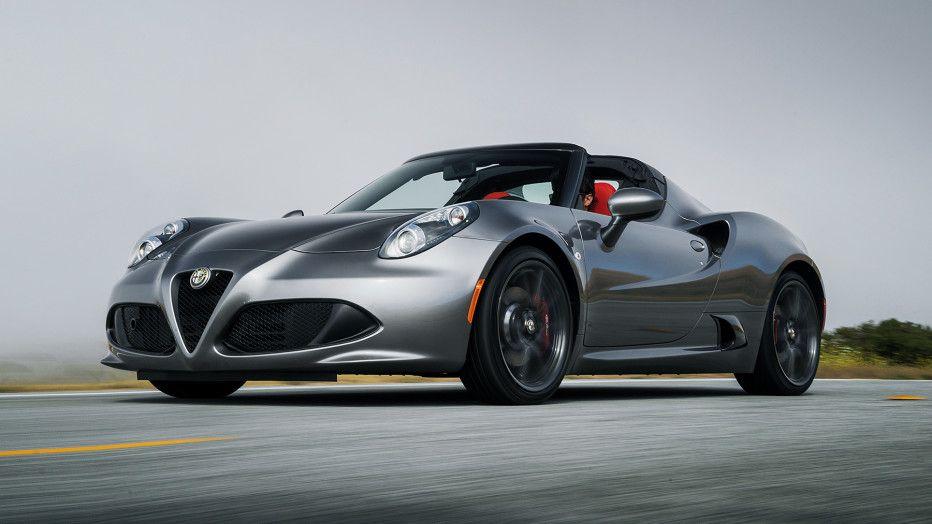 review alfa romeo 4c spider cars alfa romeo alfa romeo 4c rh pinterest com