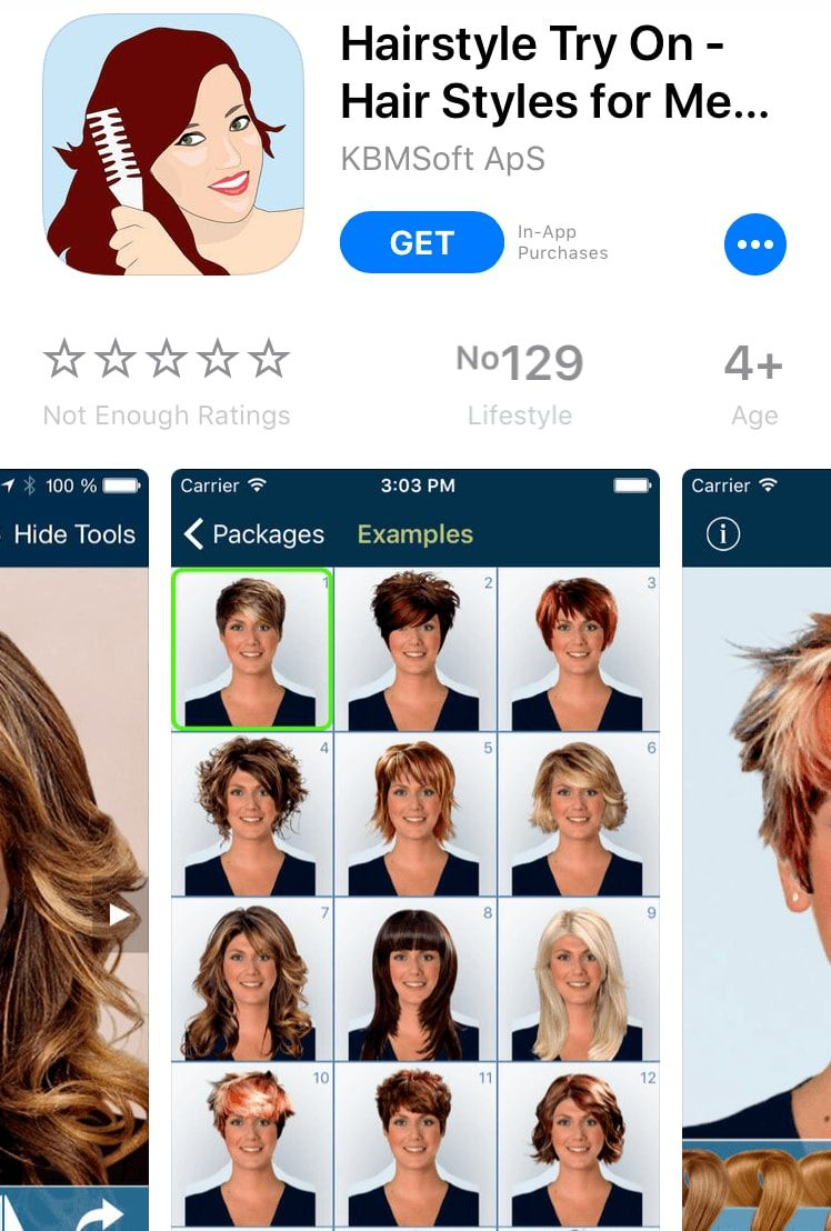 Download These Apps And Discover Flattering Hairstyles For Your Face Shape Theyre So Much Better Than A Magic Mirror All Things Hair From Hair