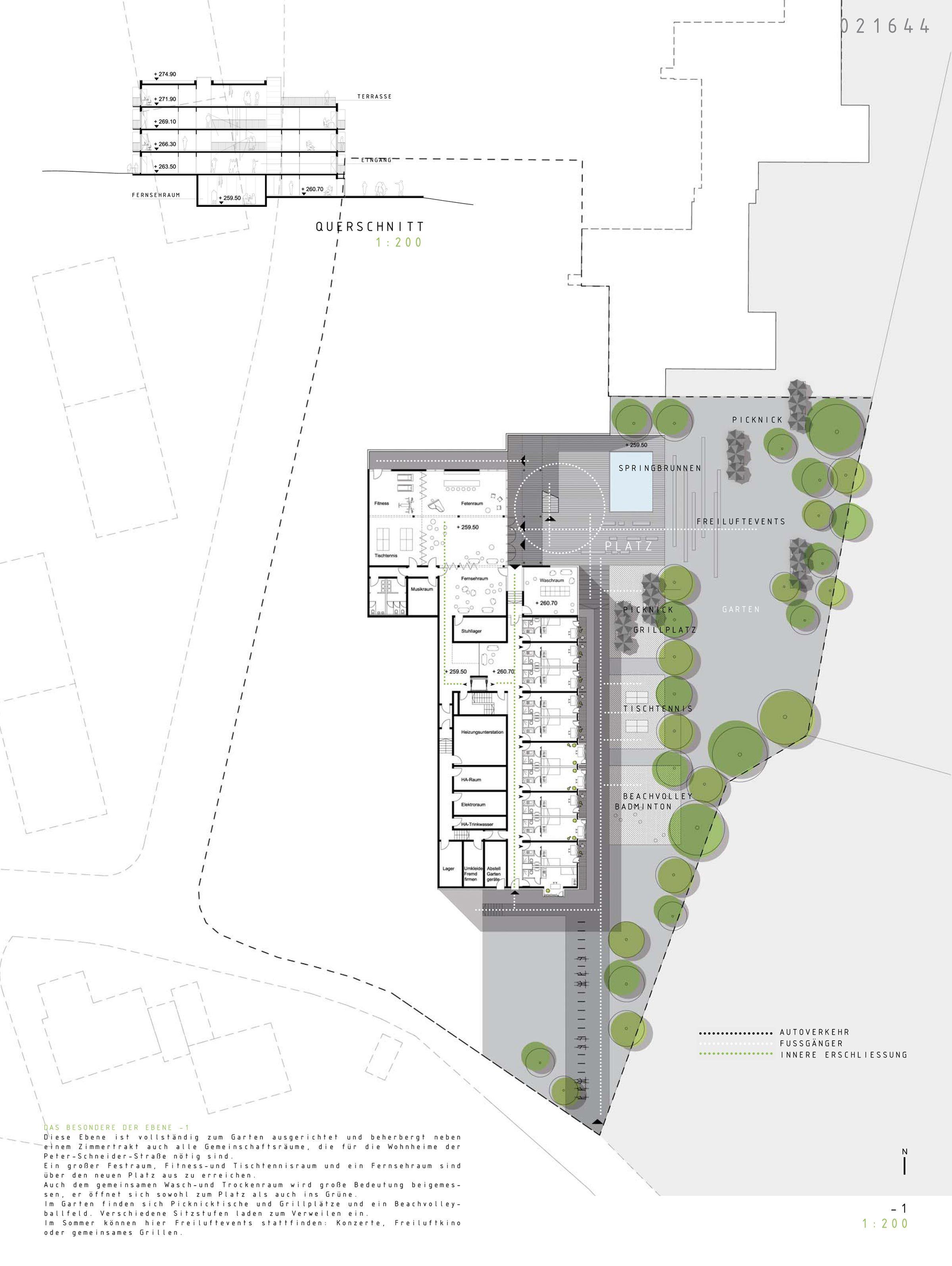 5 studentenwohnheim wuerzburg ug Architecture PlanStudent DormitoryCollege