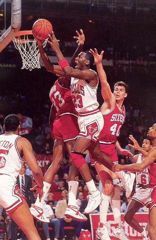 c1fb14dc2d20 Sixers Against Layup (1986 87 NBA Season)