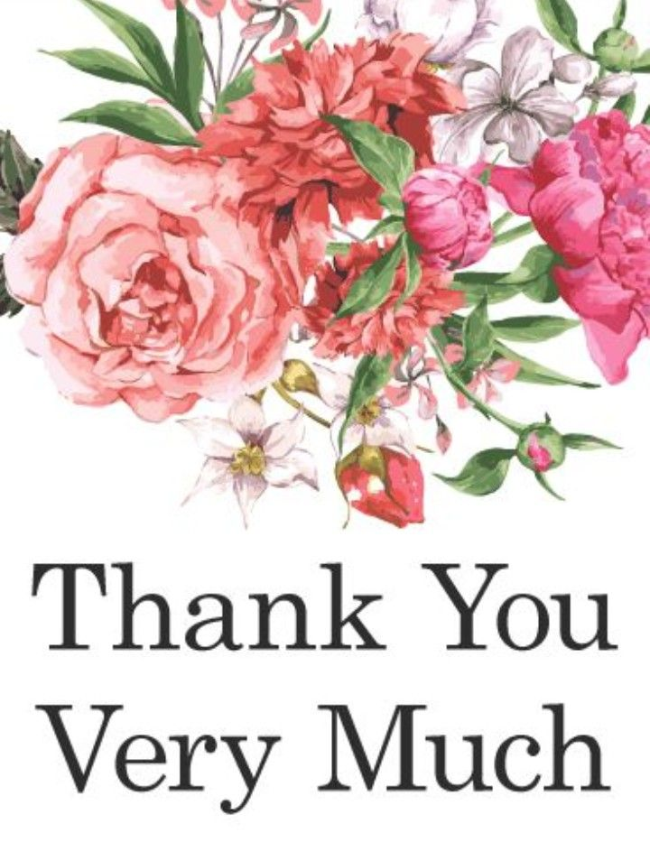 Thank You So Very Much Images